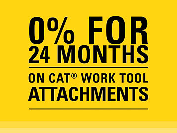 0 for 24 on Cat Work Tools