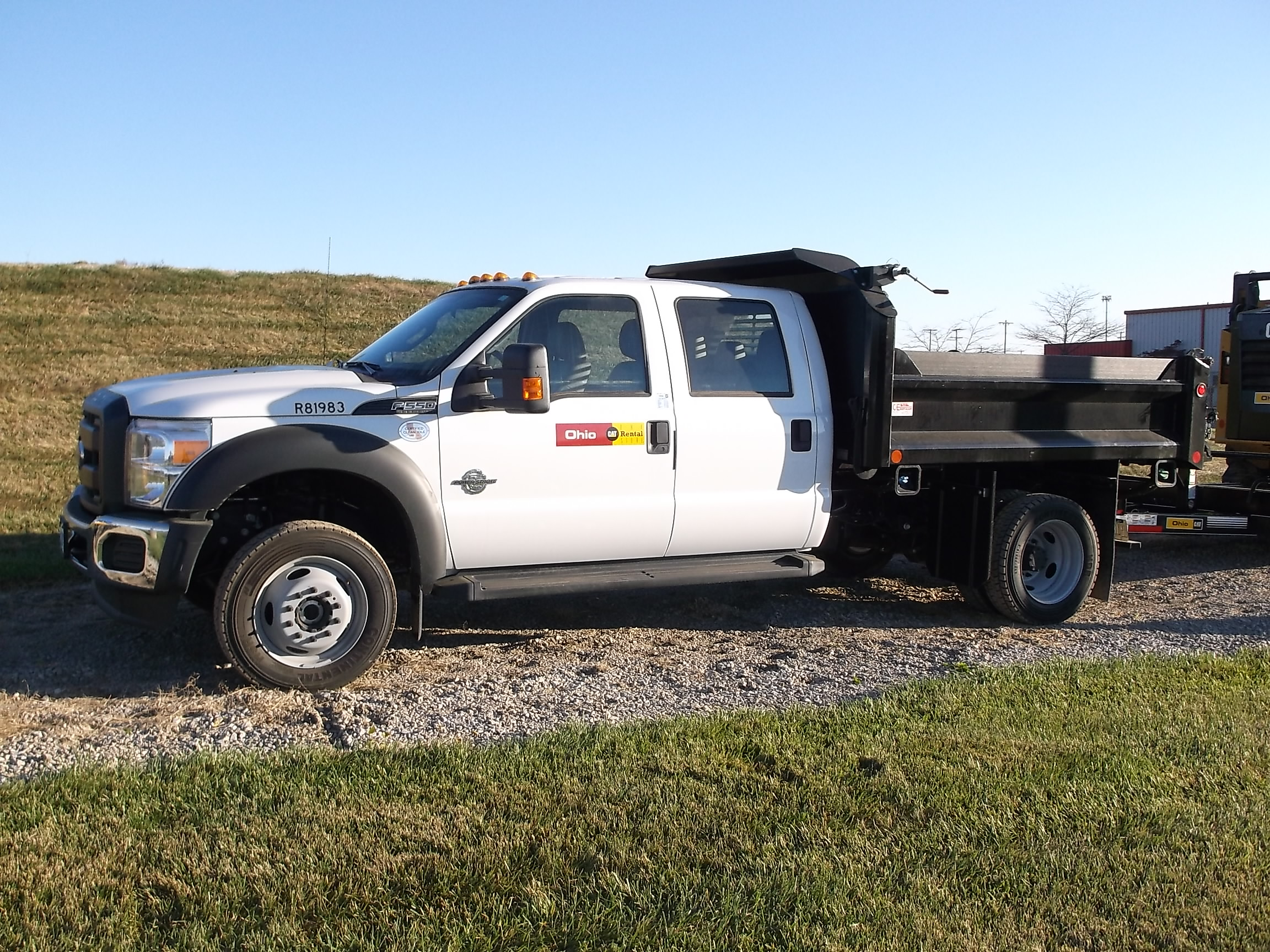 Picture of: 3 4 Yd Small Dump Truck Ohio Cat Rental Store