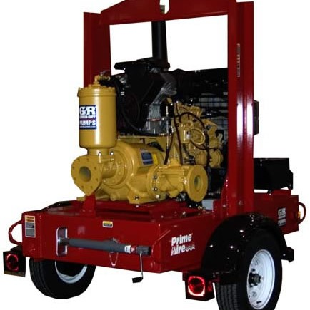 Prime Assist 4 inch trash pump rentals