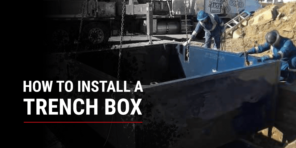 trench boxes